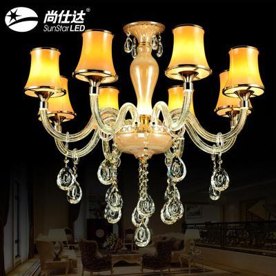 吊灯水晶灯蜡烛灯欧式吊灯led吸顶灯
