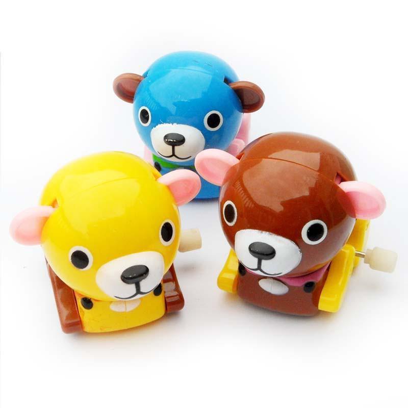 乐婴坊 发条熊 经典发条玩具 上链玩具 可爱的小熊