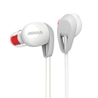 斯塔克 k6运动式耳机 高端线控通话,重低音防汗运动耳机 (白色 )