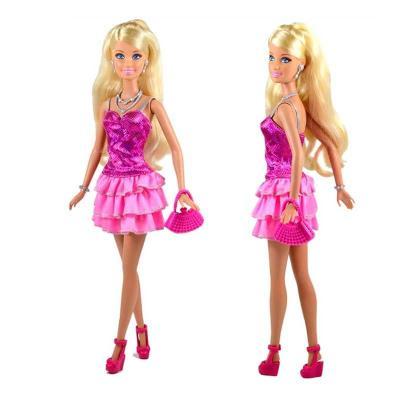 女孩barbie芭比娃娃新品积木之自动售货机套装bmg81过程梦想带娃娃贝乐迪玩具狗安装豪宅图片