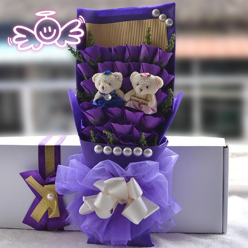 鲜花包装步骤步骤图解 盒子