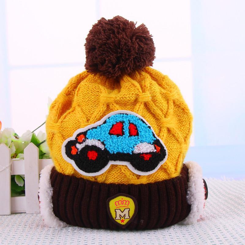 宝宝帽子秋冬款婴儿帽子冬季韩版护耳帽冬天小孩儿童