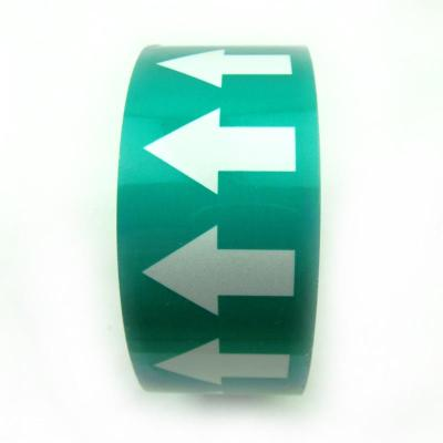 谋福 管道标识反光膜 流向导向指示标签 箭头标标贴 反光标识消防不干图片