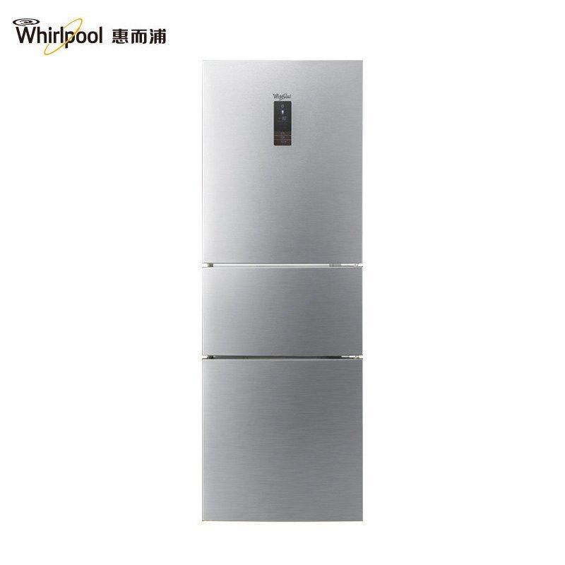 惠而浦(Whirlpool)BCD-253WTEW 253升风冷三门冰箱(绚丽银)