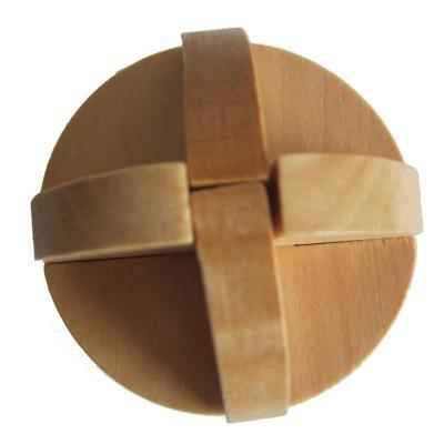 木有人 木质孔明锁鲁班锁 益智玩具 鲁班球
