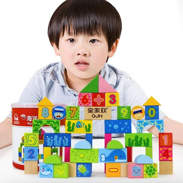 【木玩世家堆叠积木】木玩世家