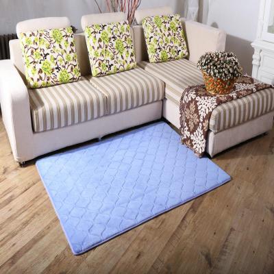 地毯 简约欧式可定做 浅蓝色
