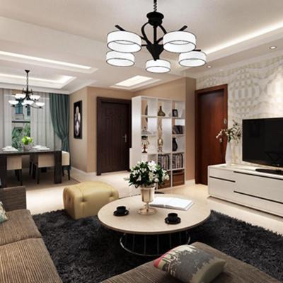 上海欧式客厅装修效果图
