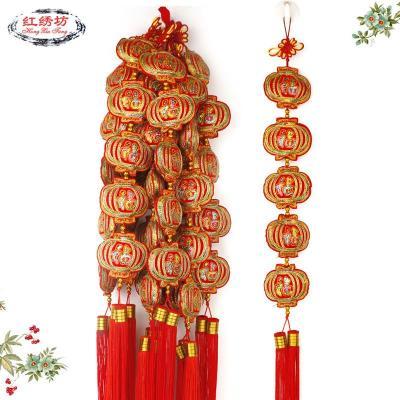 【皇冠猴仿真模型】装饰中国结灯笼串手工艺品特色