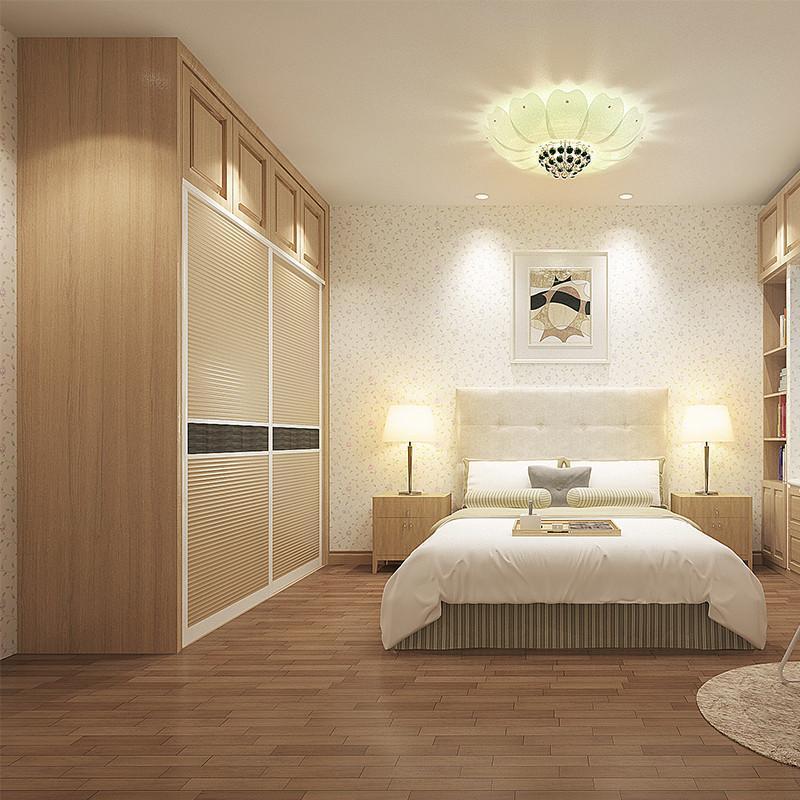 卧室装衣柜要遮窗子怎么设计先不讲摆放,先说家具的形状,首先注意