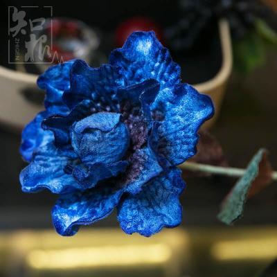 牡丹其他绒布花家居饰品装饰花客厅摆花插花