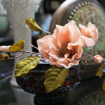 【皇冠猴仿真模型】花仿真花其他兰花欧式复古玉装饰