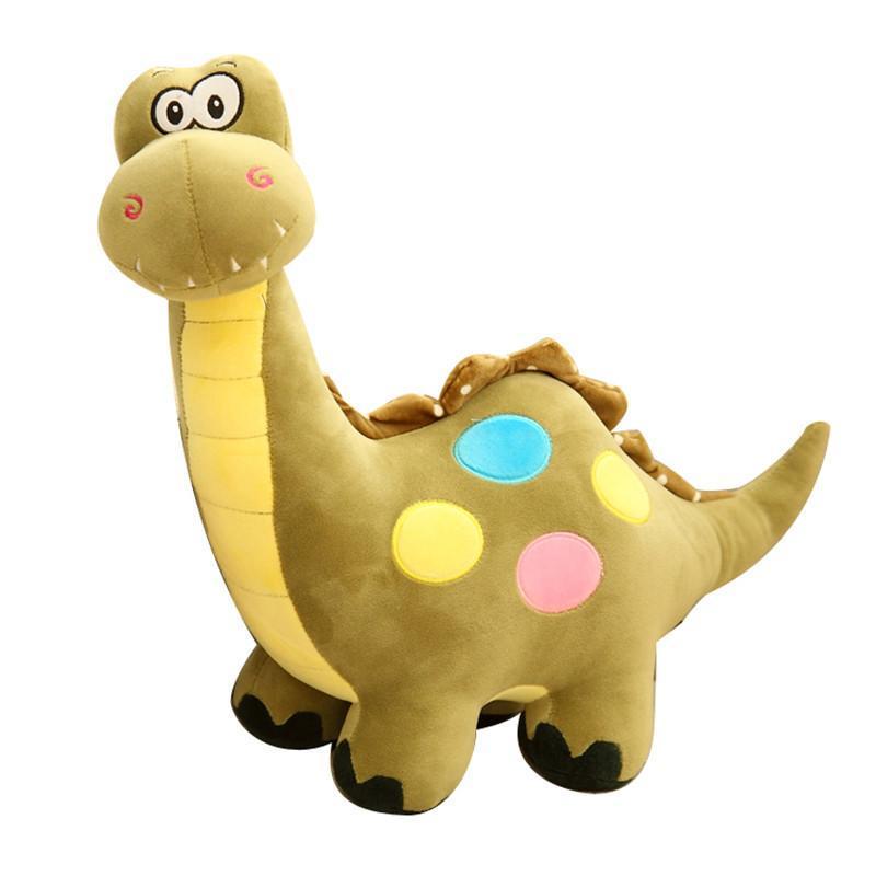 可爱彩色小恐龙毛绒玩具公仔 儿童玩偶布娃娃 儿童节礼物生日礼物