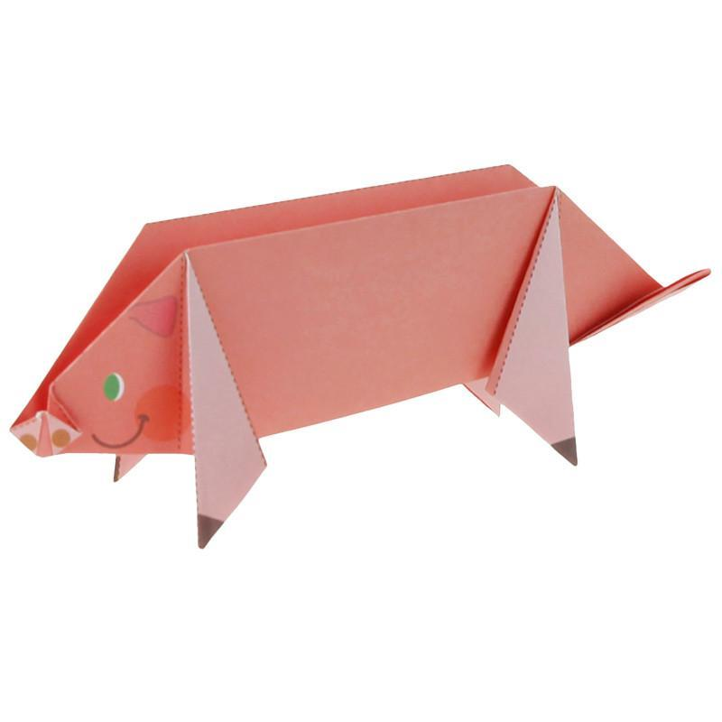 动物园的折纸图解