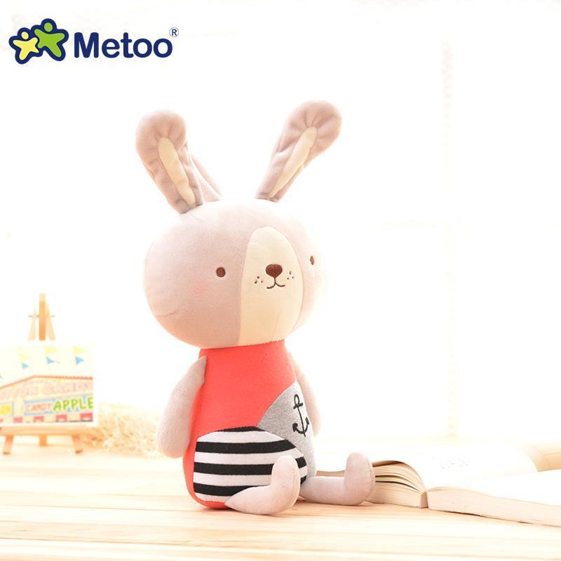 metoo 萌熊萌兔公仔 毛绒玩具 幼儿早教机 宝宝婴幼儿音乐玩具 大号