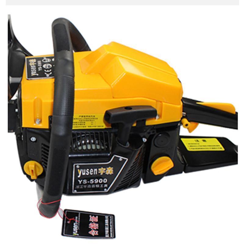 宇森yusen汽油锯伐木锯ys5900油锯18英寸大功率链条锯切冰锯园林工具