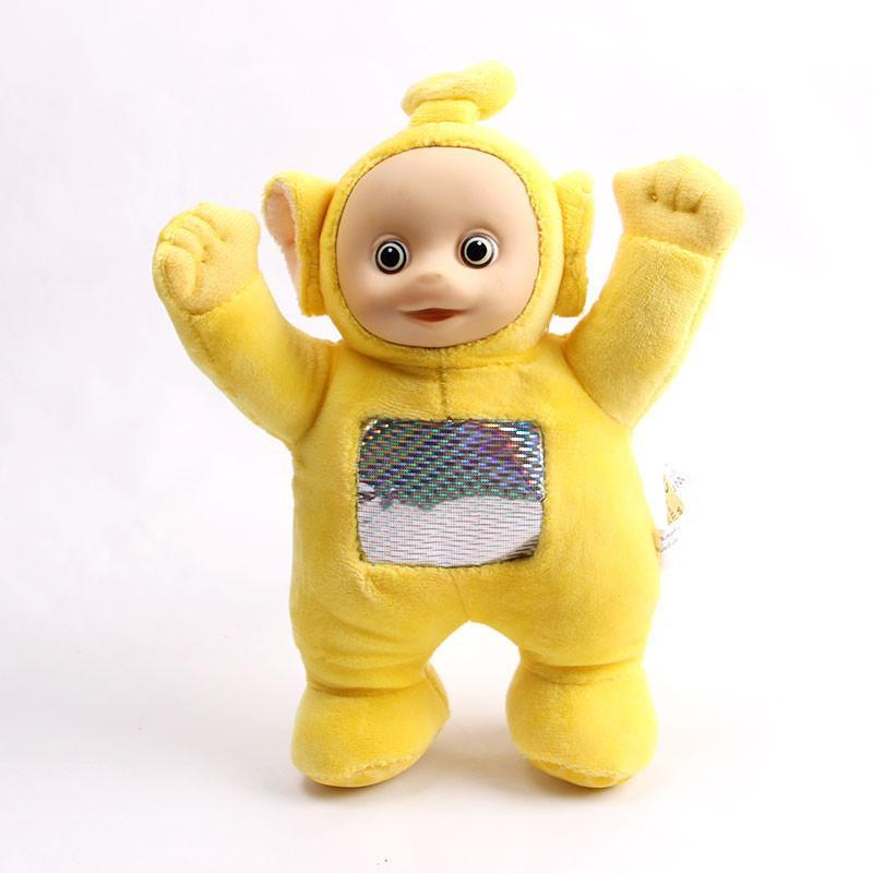 宝诚达 天线宝宝套装毛绒玩具公仔小波 迪西 拉拉 丁丁布娃娃玩偶礼物
