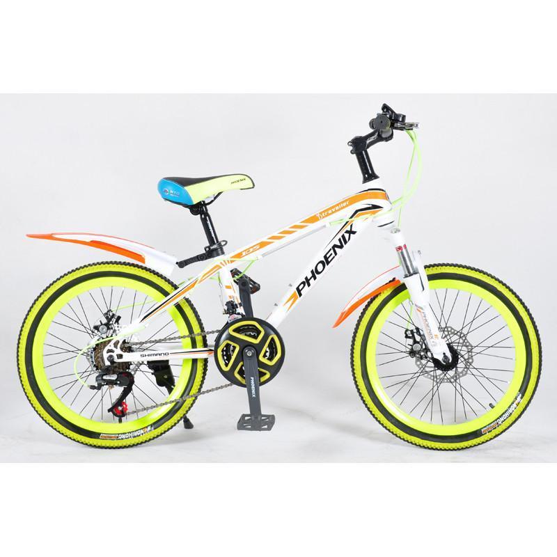 凰山地自行车新款个性炫酷20寸高碳钢山地车禧马诺双碟刹包邮//龙珠