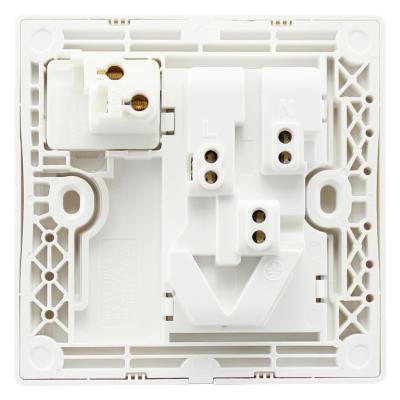 施耐德电气 带开关一开五孔插座二三插 墙壁电源面板 10a 丰尚 白