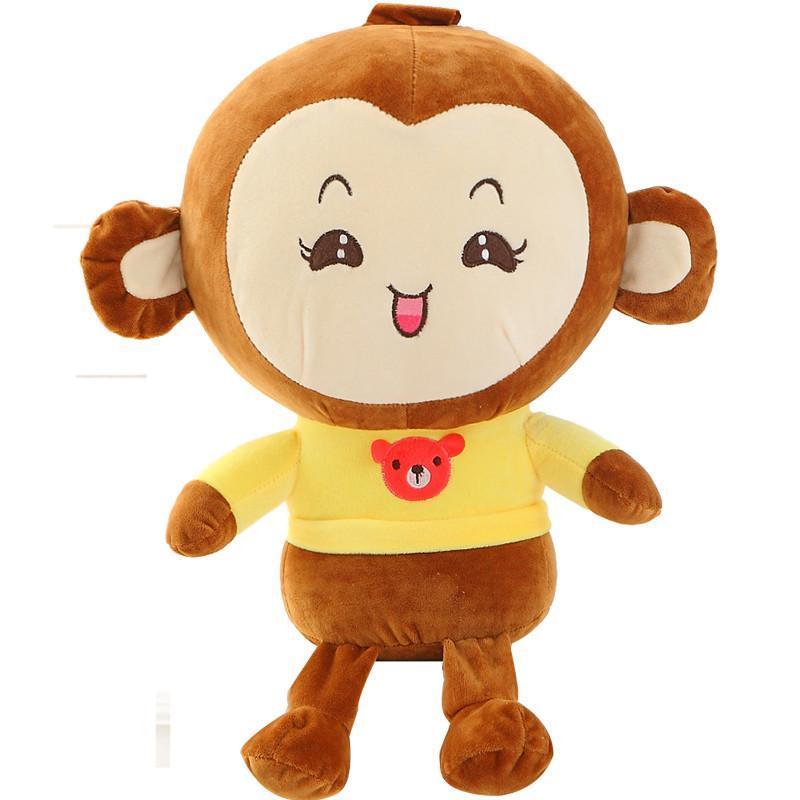 可爱毛绒玩具猴子公仔 情侣猴猴抱枕情侣布娃娃可爱生日礼物女生 情侣