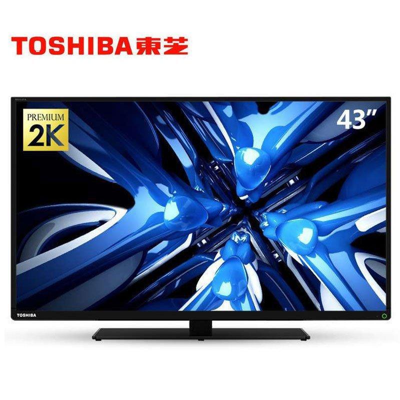 东芝(TOSHIBA) 43L3500C 43英寸 全高清 安卓4.4 智能网络 火箭炮 LED液晶平板电视