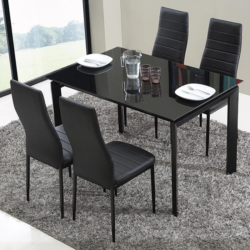 ulike 时尚简约欧式餐椅 餐桌椅子 休闲椅 pu椅两把起售 白色高清实拍