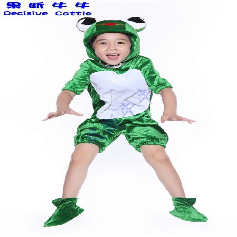 语文课本小蝌蚪找妈妈青蛙蝌蚪儿童动物卡通演出服饰