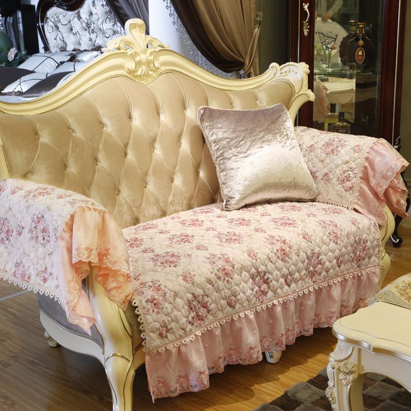 家纺欧式提花沙发垫
