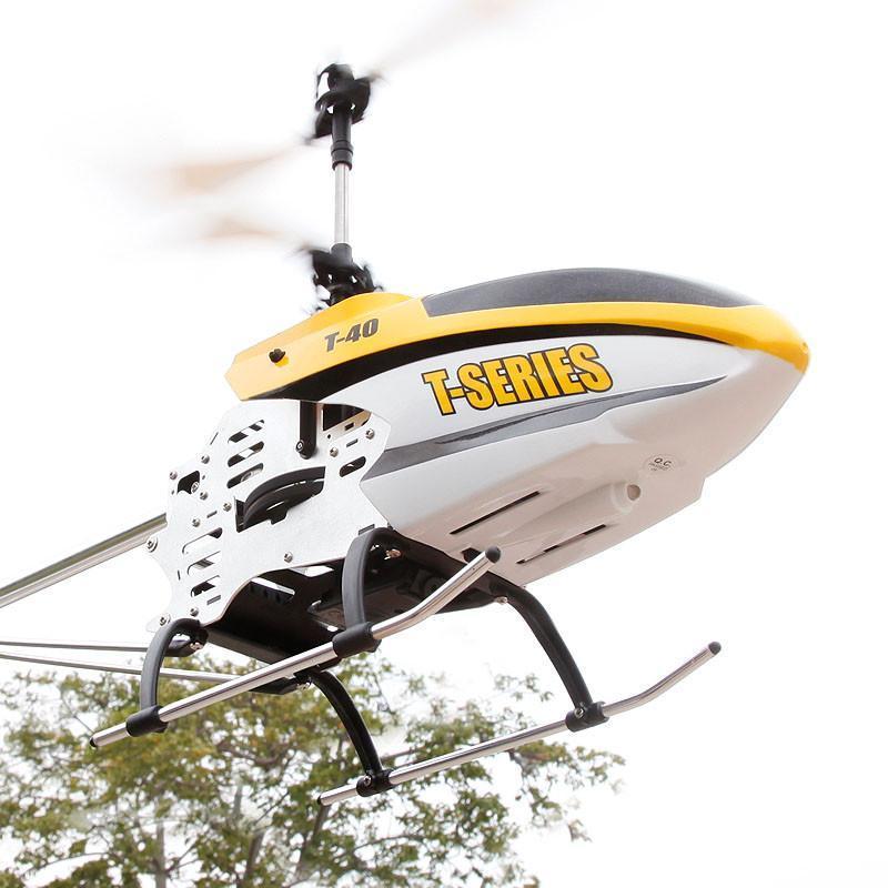 美嘉欣t40c大型合金遥控直升飞机超大航拍遥控飞机高清摄像头 两色
