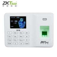 中控X10数显考勤机中小企业免软件打卡机T9方法卡尺电子操作指纹图片