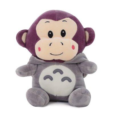 安吉宝贝可爱龙猫公仔毛绒玩具布娃娃变身玩偶小娃娃
