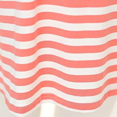 2015新款韩版上衣纯色条纹假两件