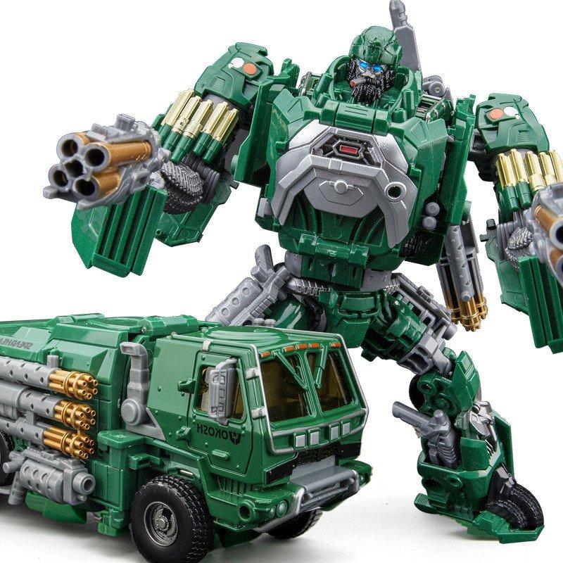 探长变形金刚玩具4专区 合金版变汽车人机器人模型男孩玩具礼物
