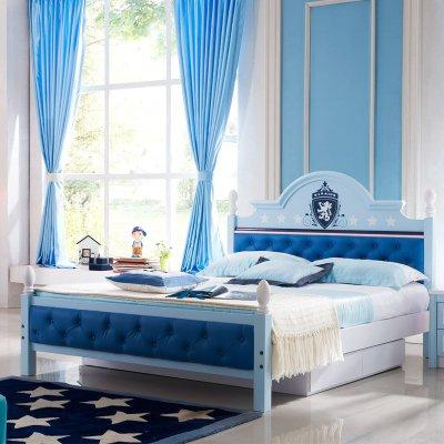 优漫佳欧式儿童床男孩单人床小孩床儿童套房家具组合