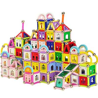 棒磁性拼搭建构积木儿童益智玩具