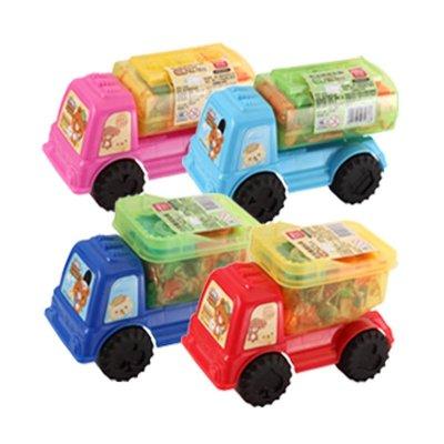 7033学生手工橡皮泥 小汽车型彩泥 创意用品彩泥套装玩具礼品
