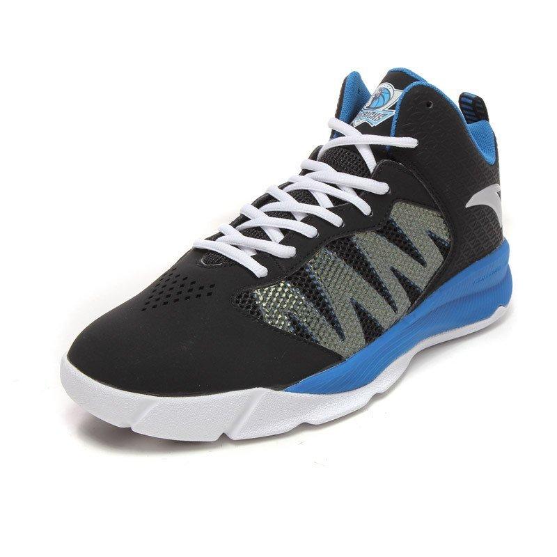 安踏anta2015新款男鞋篮球鞋运动鞋速度篮球115311321黑40码