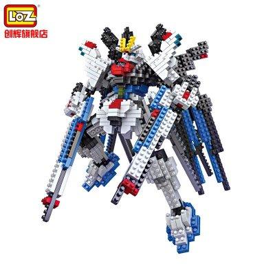 loz 钻石颗粒塑料积木 拼装玩具 9354高达 机械战士系列