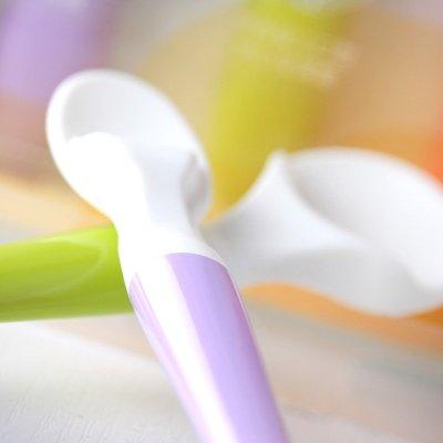 贝亲婴儿勺 宝宝喂哺勺子组合幼儿喂养软汤勺3支装宝宝餐具正品da54