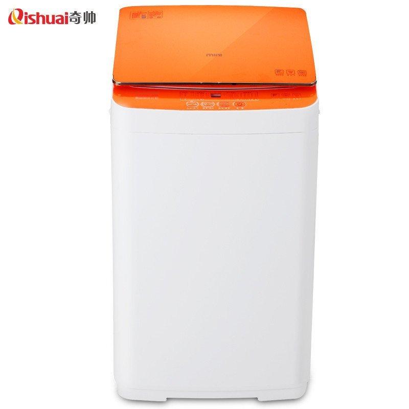 奇帅/Qishuai XQB35-353 3.5公斤全自动婴儿家用儿童迷你波轮洗衣机(星光橙)