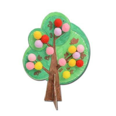 蓝迪智慧乐园 创意儿童手工制作diy材料 自然组合 益智玩具 适合4岁
