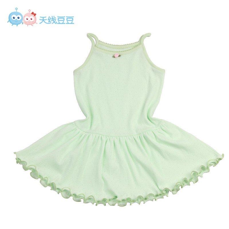 女宝宝背心连衣裙 儿童蕾丝公主吊带裙2015夏装新款1-234婴儿裙子