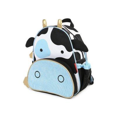 【美国直邮】skip hop动物园儿童书包 奶牛图案