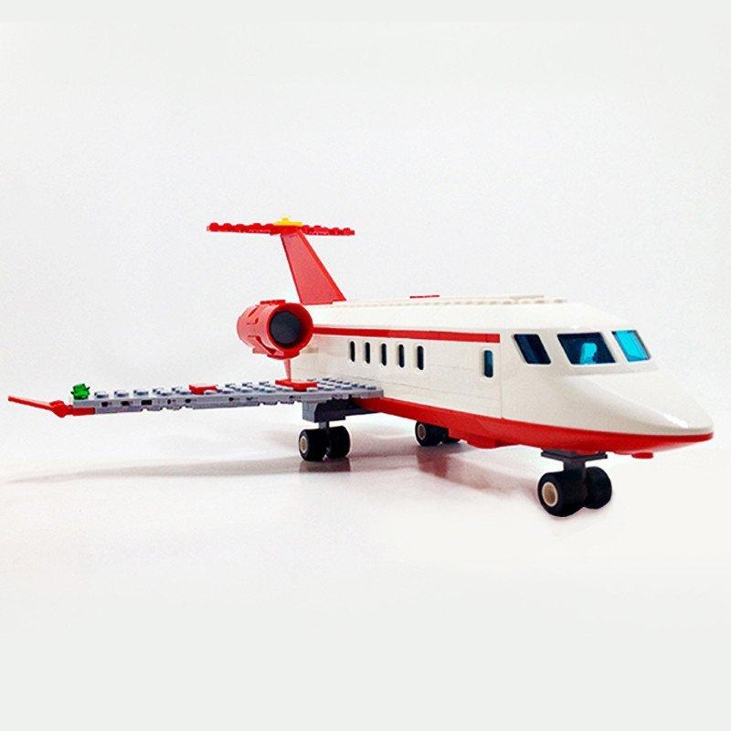 【星钻系列】古迪积木8911航空系列私人飞机儿童益智