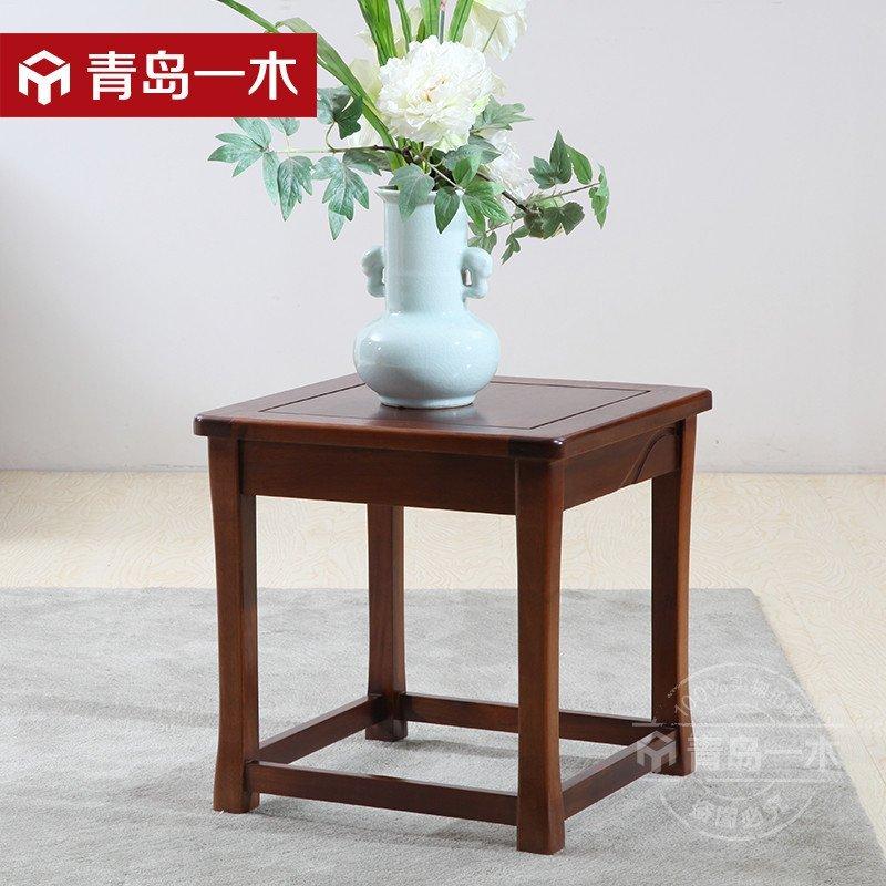 【青岛一木家居旗舰店】青岛一木实木边茶几实木家具的安装隔板图片