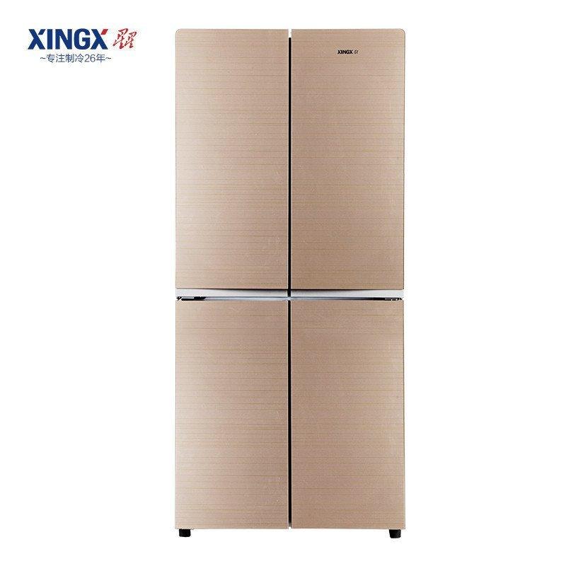 星星(XINGX) BCD-408EVB 408升 十字多门冰箱 (金色)