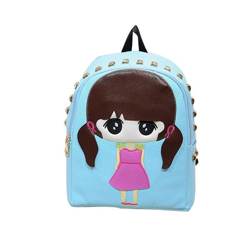 kamida咔米嗒儿童书包 幼儿小书包3-6岁女童背包可爱卡通pu双肩包图片