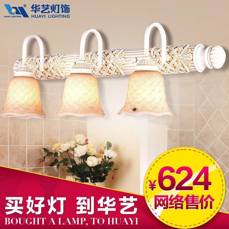 华艺面盆卫浴柜价格中式欧式