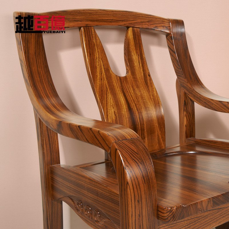 木椅子创意电脑椅