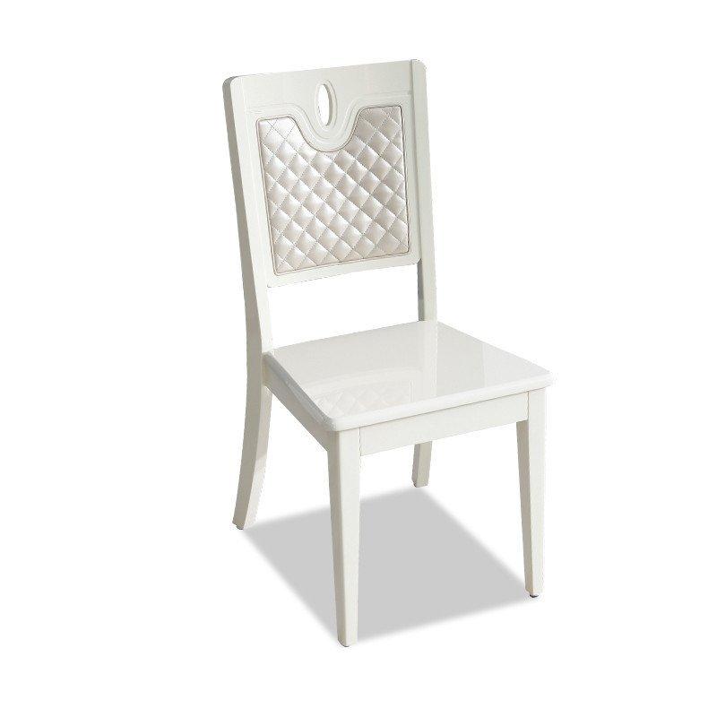 现代简约实木大理石餐桌椅组合吃饭桌欧式小户型长方形家用歺桌 餐椅*